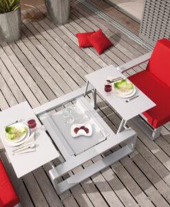 Modern living European design daybed outdoor furniture Ego Paris