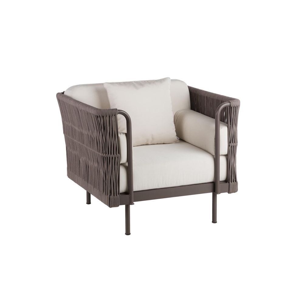 Rope Club Chair Couture Outdoor
