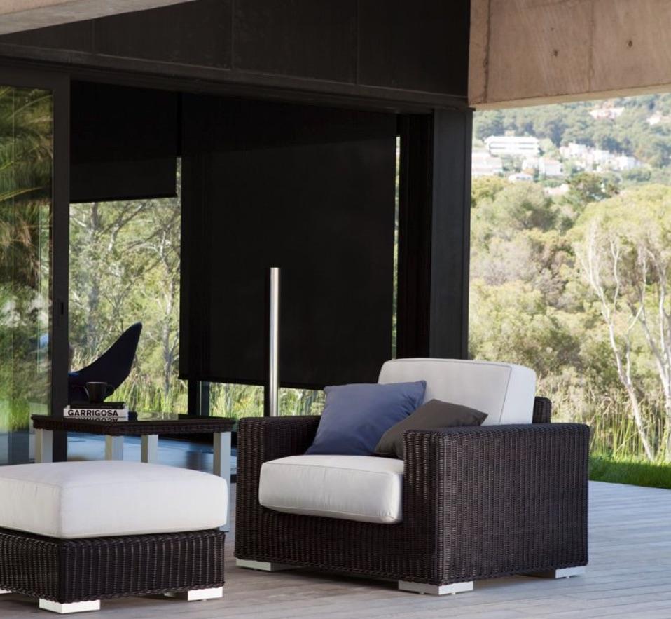 Zargos Club Chair Couture Outdoor