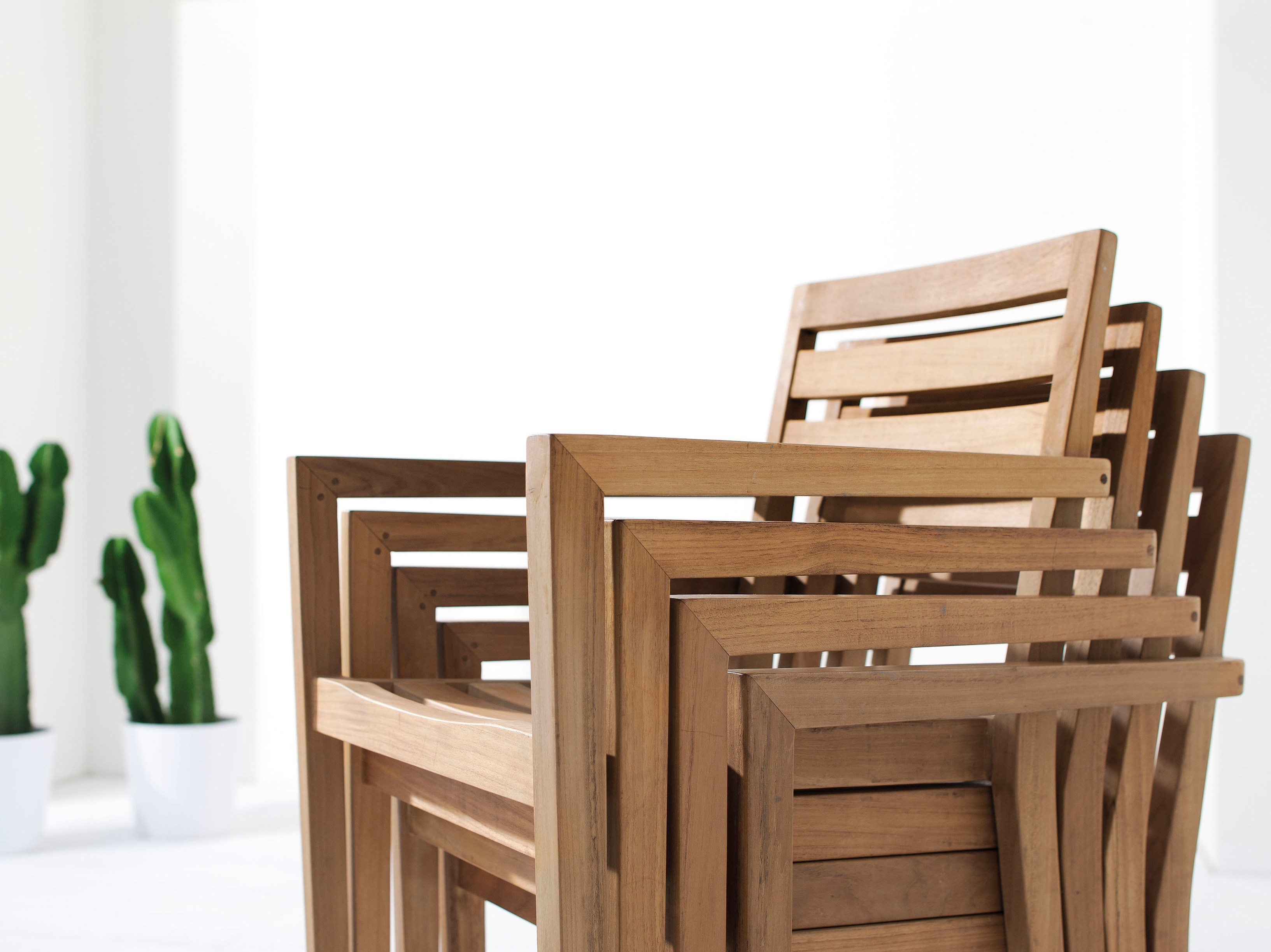 Aphrodite Stackable Dining Chairs Couture Outdoor