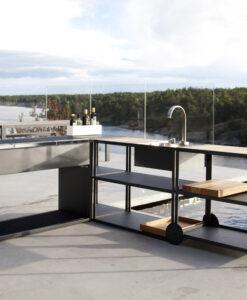 Modular Modern Outdoor Kitchen