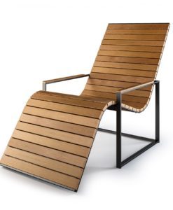 Teak Chaise Lounger