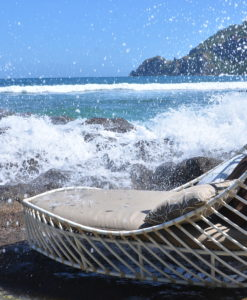 Aloha Daybed Chaise Lounger Modern Design Allweather Sunbrella