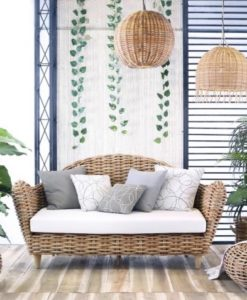 Ami Aloha Wicker Sofa Outdoor Furniture Contract