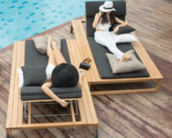 Belize Double Amp Single Chaise Lounger Premiere Couture