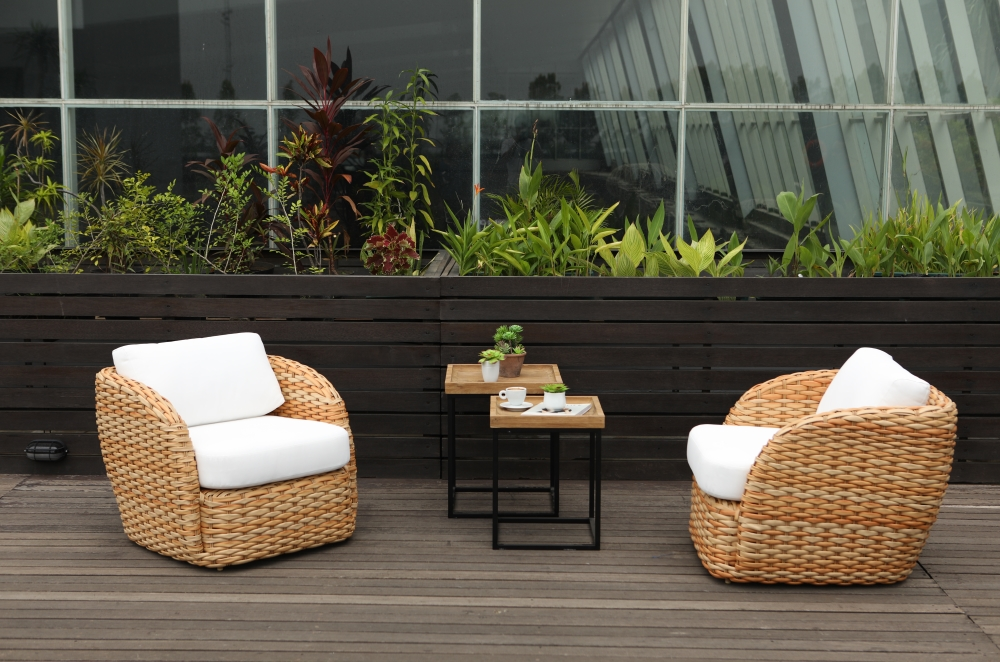 Emilia Club Chair Luxury Modern Wicker Outdoor Furniture
