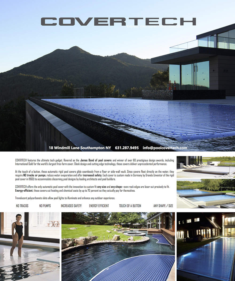 Hamptons Real Estate Show Case July 4 Covertech Ad