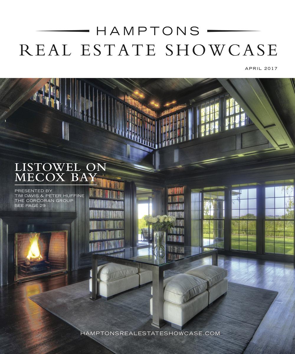 Hamptons Real Estate Show Case April cover