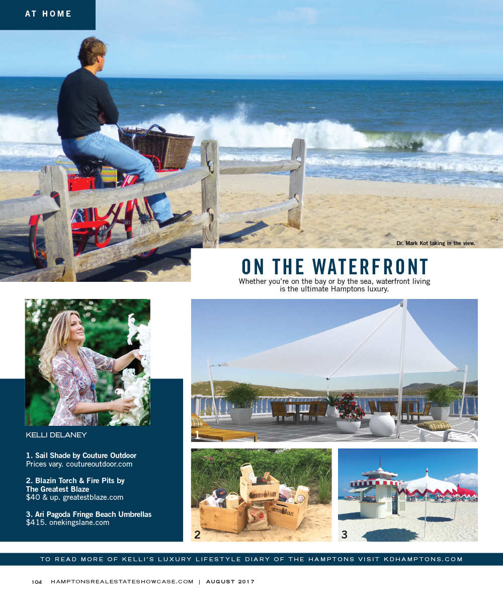 Hamptons Reale State Show Case August Couture Outdoor