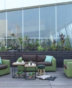 Milar Aloha Modern Wicker Hospitality Outdoor Furniture 2