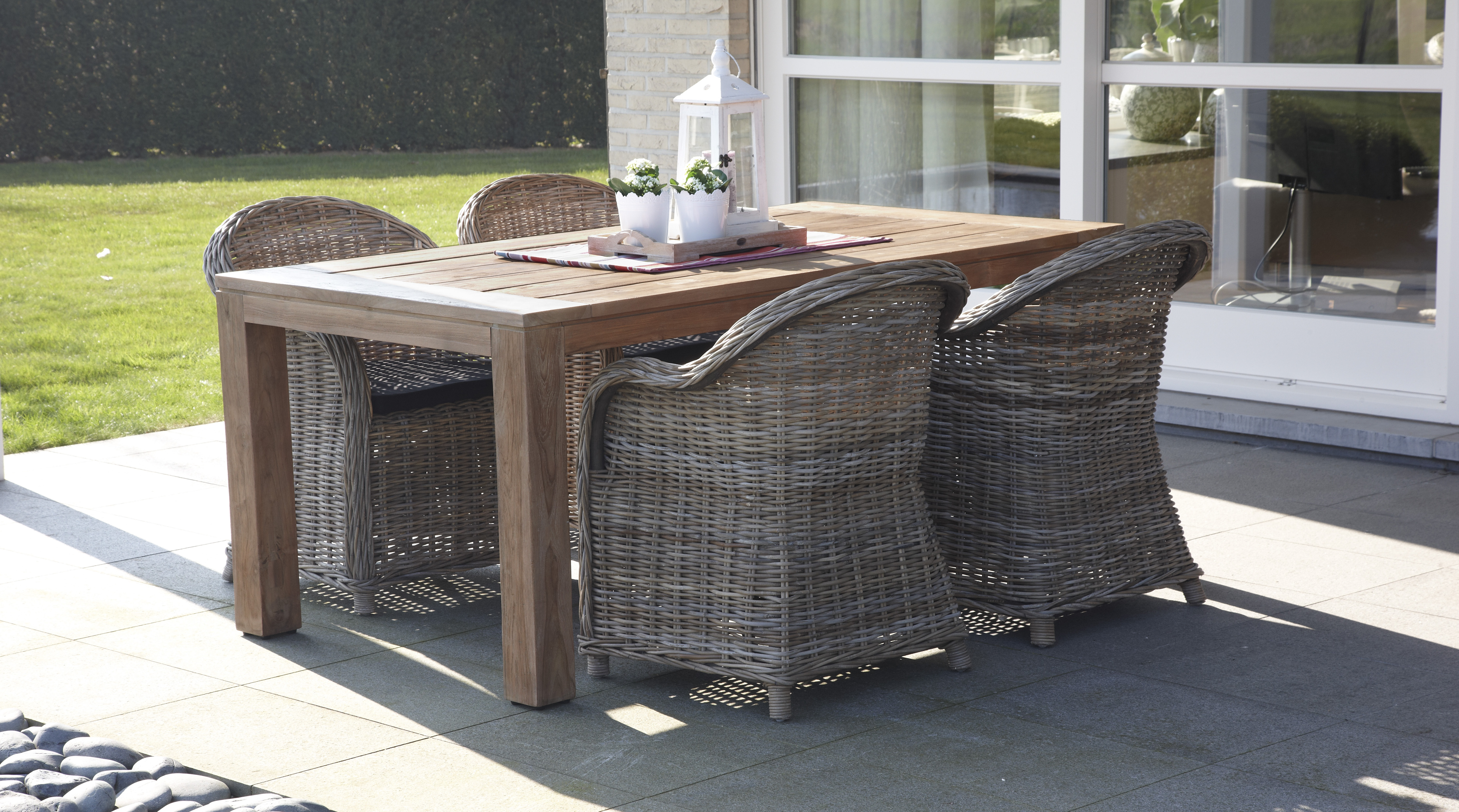 Aspen Wicker Dining Chair Houston Couture Outdoor