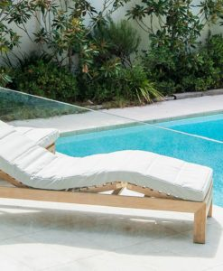 Asure Chaise Lounger Traditional Terrace Pool Furniture Outdoor Lounge