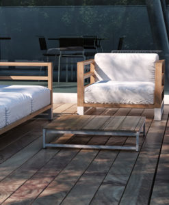 Bermudafied Modern Outdoor Furniture Contract Hospitality Teak