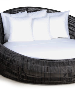 Elana Rope Woven Daybed Love Seat Hospitality Hotels Spas Luxury Contract Pool Patio Furniture 1