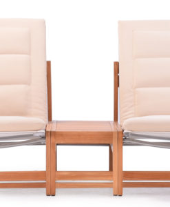 Elsa 2 Seater Sofa Modern Teak Pool Terrace Lounge Furniture Hospitality