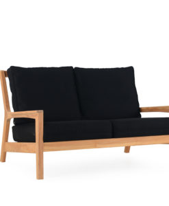 Eva 2 Seater Sofa Modern Teak Contract Pool Furniture