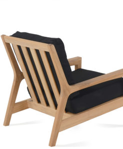 Eva Club Chair Back Modern Teak Contract Pool Furniture