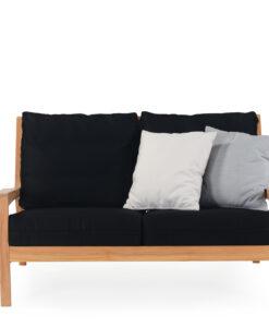 Eva lounge loveseat with cushion