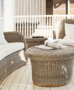Havana 2 Seater Sofa and Club Chair Traditional Outdoor Furniture Hotels Hospitality