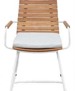 Ronda Luxury Teak Dining Chair Restaurant Contract
