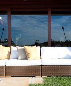 Weave Sectional Modular Sofa Contract Outdoor Furniture Hamptons Florida