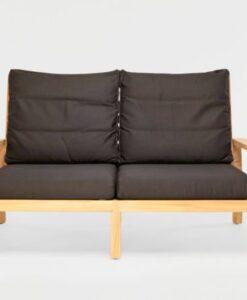 Hampton 2 Seater Sofa Traditional Teak Patio Hotel Terrace Furniture