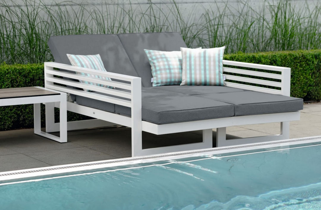 Balcony Sectional Sofa Stock Couture Outdoor