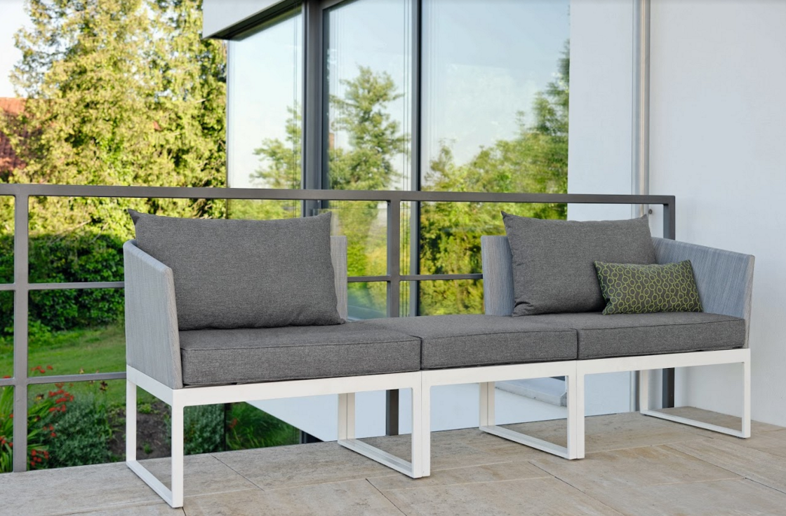 Balcony Multi Function 3 Seater Sofa Stock Couture Outdoor
