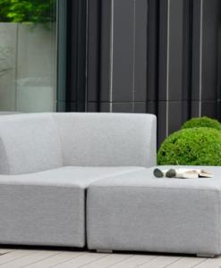 Modern Aluminum 2 Seater Adjustable Modular Sofa