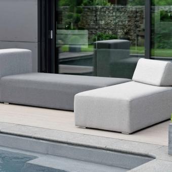 Adonis modular outdoor fabric outdoor furniture bold modern Adjustable backrest luxe living luxury living