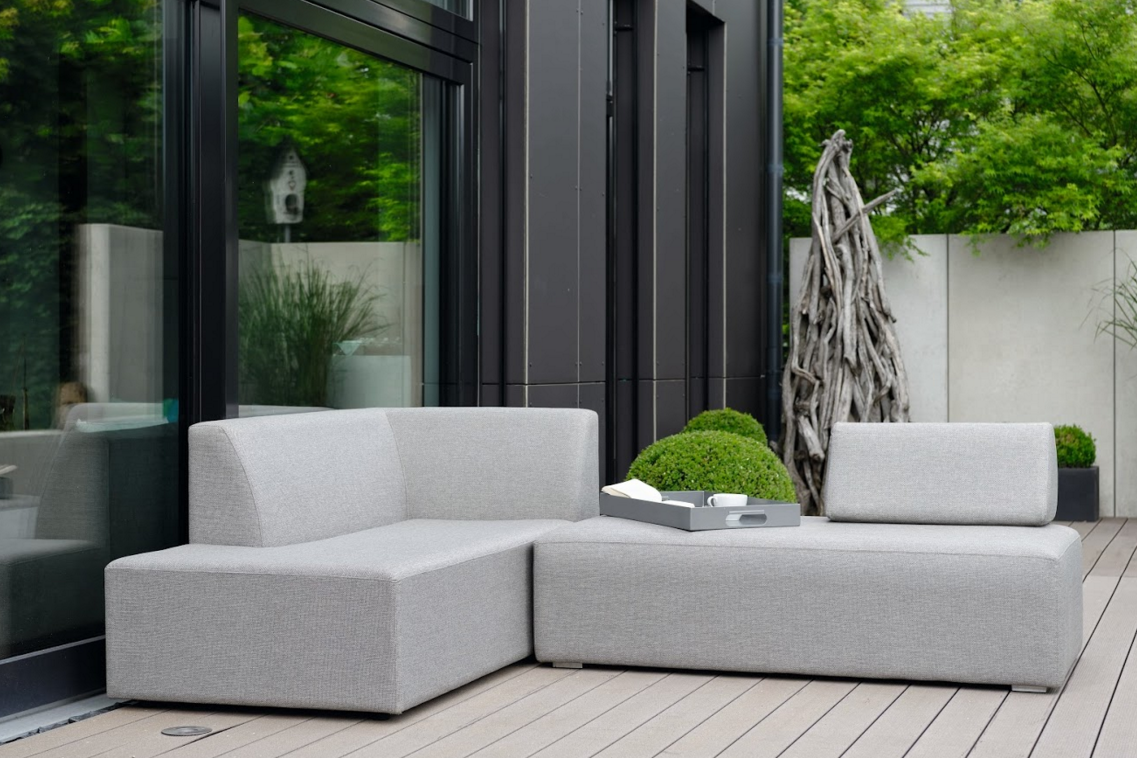Dom Modular Outdoor Fabric Outdoor Furniture Bold Modern Outside Luxe