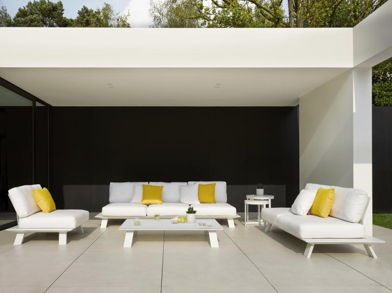 Dream Sofa White Black Modern Outdoor Lounge Seating Area Contract  Hospitality Hotel Restuarant Beach Club House Miami Fl Hamptons Ny Los  Angeles Ca