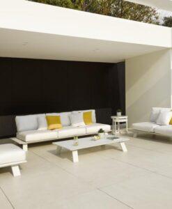 Dream sofa black modern outdoor sofa table dining hospitality hotel Restaurant beach club house Miami fl Hamptons ny los Angeles ca