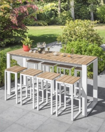 Firm Bar Stile Couture Outdoor - Teak high top table
