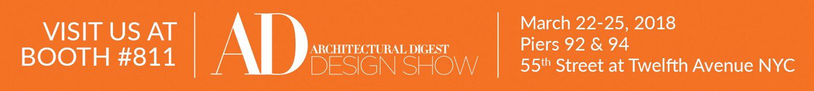 Architectural Digest Design Show Banner