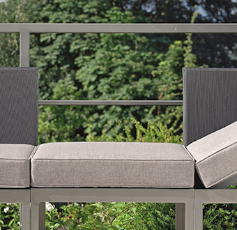 Sectional balcony multipurpose outdoor furniture