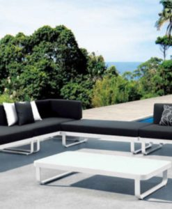 averon white modern modular multi-function sofa