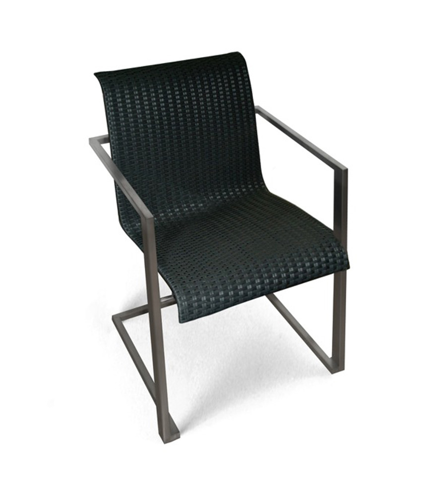 Centauro Cantilever Dining Chair Stackable Couture Outdoor