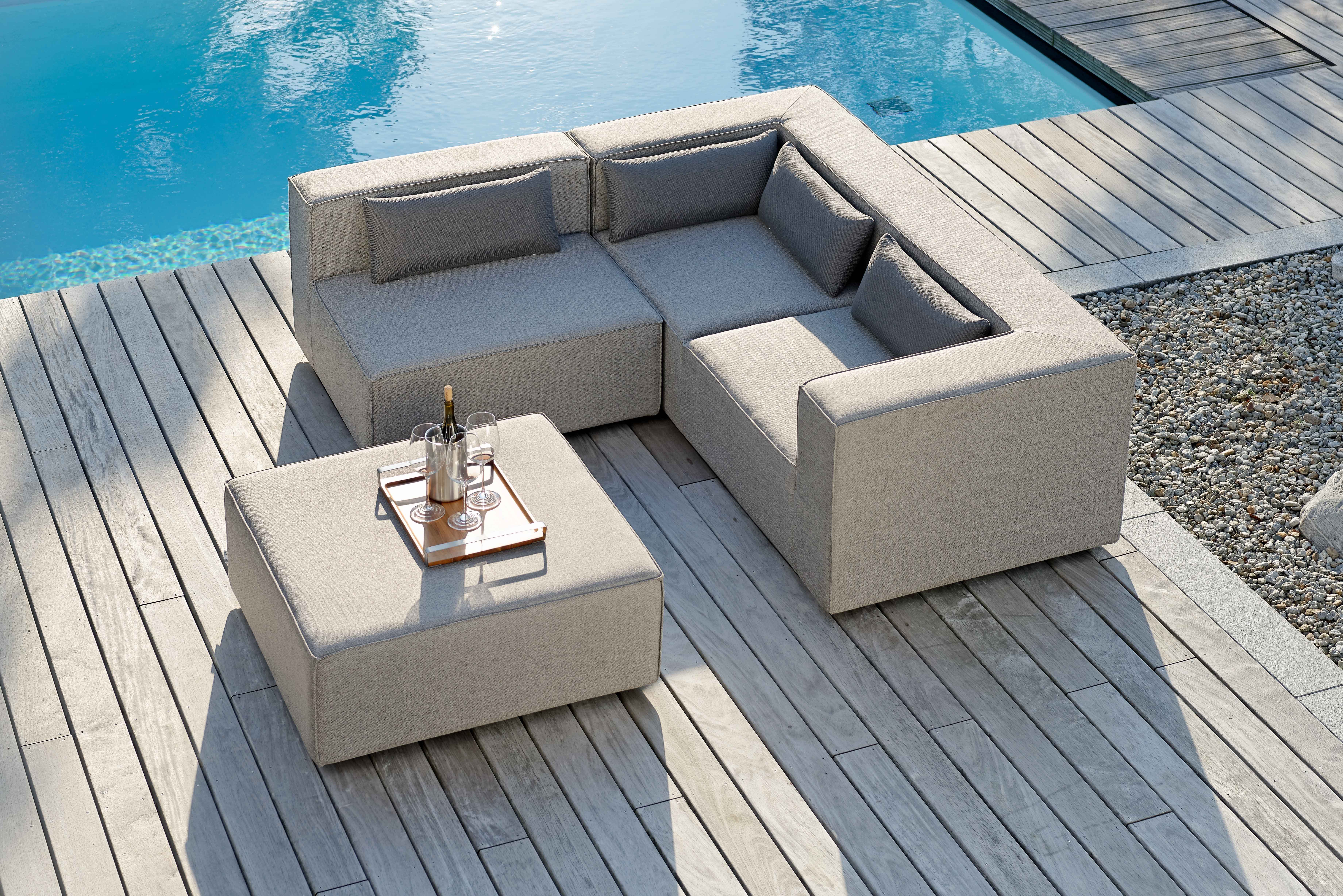 Charisma Sectional Sofa Luxury Sunbrella Outdoor Furniture Residential  Contract Pool Patio 4