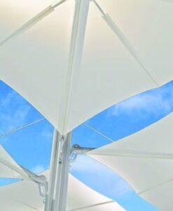 Hudson 4 Cuatro Cantilever Adjustable Tilt Umbrella