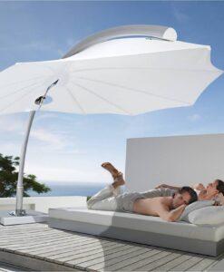 bloom 360 rotation modern luxury umbrella