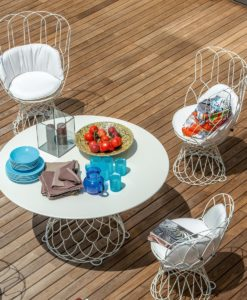 Capri Luxury Outdoor Dining Collection