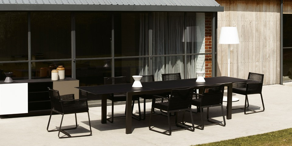 Kettal landscape dining collection couture outdoor for Kettal muebles