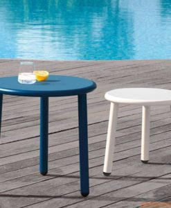 "A table like this can go anywhere you so desire. A low side table like this can add that ""pop"" you need with out being overbearing."