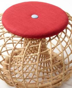 This rattan side table also cab be used as a foot stool or made of sustainable natural rattan. It is lightweight yet extremely strong.