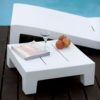 Modern Square Plastic Side Table