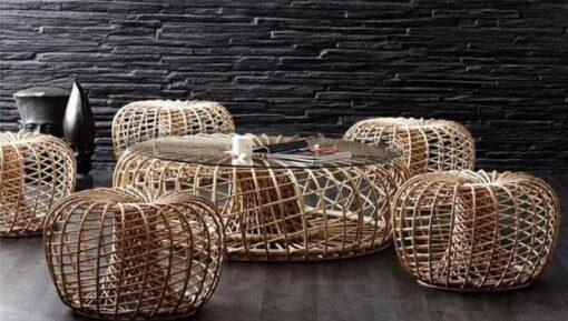 1400-1601c_Modern_Rattan_Coffe_Table