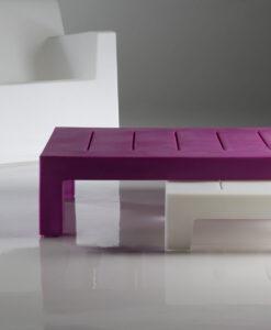 Modern Rectangular Outdoor Coffee Table