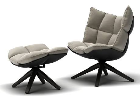 Modern Swivel Aluminum Leather Club Chair Contract Hospitality Hostels