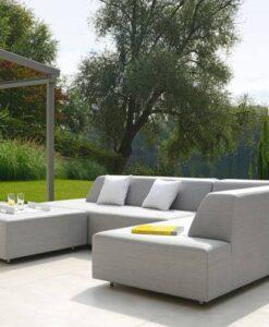 Modular 2 seater sofa